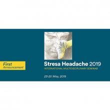 23-25/5/2019 - STRESA HEADACHE 2019