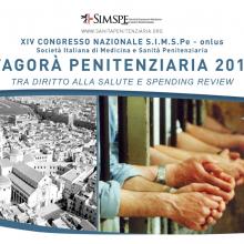 6-8/06/2013 - XIV Congresso Nazionale SIMSPe-onlus L'Agorà Penitenziaria 2013