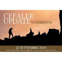 22/09/2018 - Cefalee Update VI edizione